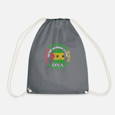 Sao Tome And Principe Sao Tome And Principe Its In My DNA - Drawstring Bag