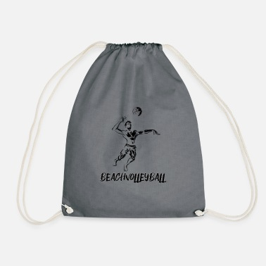 Beach Volleyball Beach volleyball - beach volleyball - volleyball - Drawstring Bag
