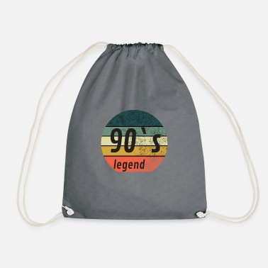 90s 90`s Vintage Sytle - legendary - Drawstring Bag