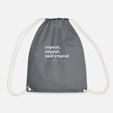Repeater repeat, repeat and repeat - Drawstring Bag