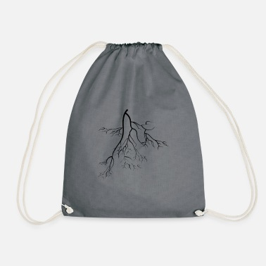 Roots root - Drawstring Bag