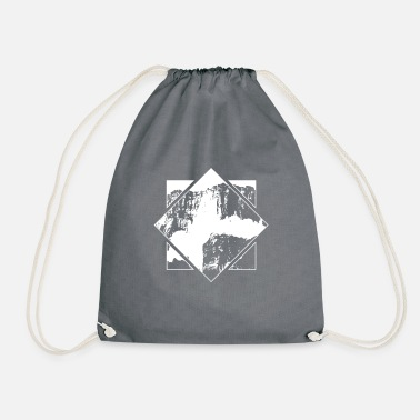 Ángel Salto Angel Outdoor Waterfall Venezuela Nature - Drawstring Bag