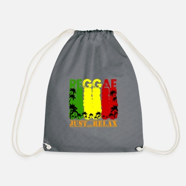 Just Reggae Reggae - Just Relax - Drawstring Bag