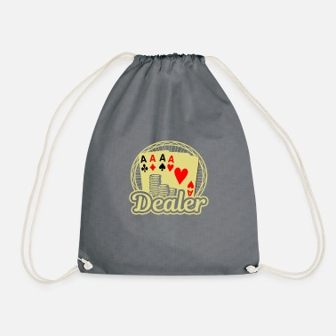 Casino Dealer Card Poker Casino - Mochila saco