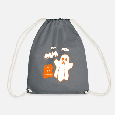 Halloween Kids Shirt Trick eller Treat - Sportstaske