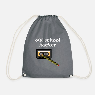 School old school hacker - Gymtas