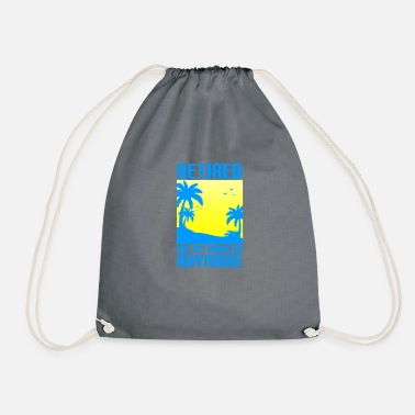 Pensioner Pensioner pension pension pensioner retirement gift - Drawstring Bag