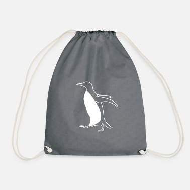 Penguins Penguin Penguin - Drawstring Bag