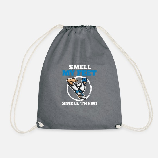 Martial Arts Bags & Backpacks - karate - Drawstring Bag grey