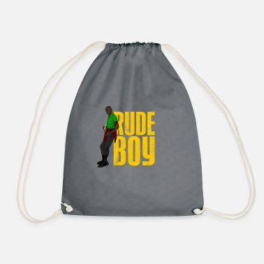 Yardie Rude Boy product | Jamaican Reggae Yardie designs - Drawstring Bag