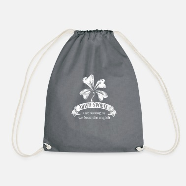 Irish Sports Just as Long as... - Irish Sports print Soccer - Drawstring Bag