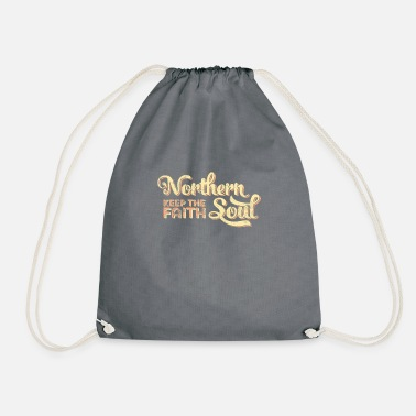 Soul Northern Soul print / Keep The Faith graphic - Drawstring Bag