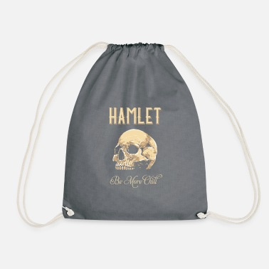 Tempest Hamlet Be More Chill graphic | Funny print Quotes - Drawstring Bag