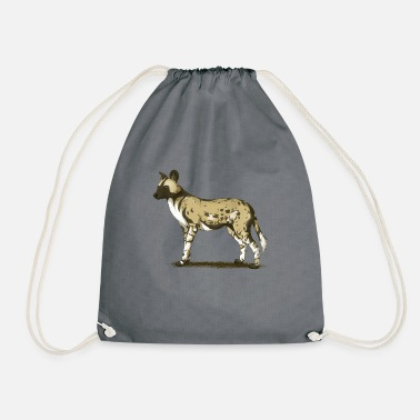 Wild Dog African wild dog - Drawstring Bag
