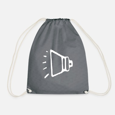 Loud speaker - Drawstring Bag