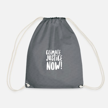 Climate Justice NOW! - Drawstring Bag