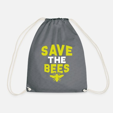 Bumble Bee Beekeeping beekeeper honey bee bees bee gift - Drawstring Bag