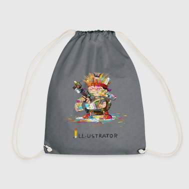 illustrator - Drawstring Bag