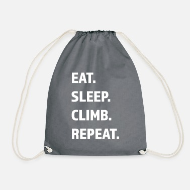 Run Funny saying for outdoor wanderer berg - Drawstring Bag