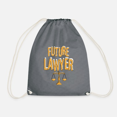 Exam Lawyer attorney law judge gift 1 - Drawstring Bag