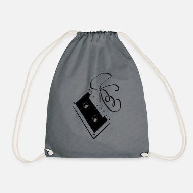 T-SHIRT CASSETTE - Drawstring Bag