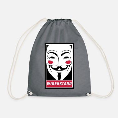 Guy Fawkes - weerstand - Gymtas