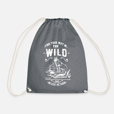 Wilderness wilderness - Drawstring Bag