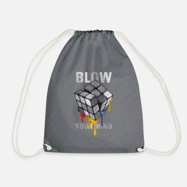 Anns Selection Rubik's Cube Blow Your Mind - Drawstring Bag