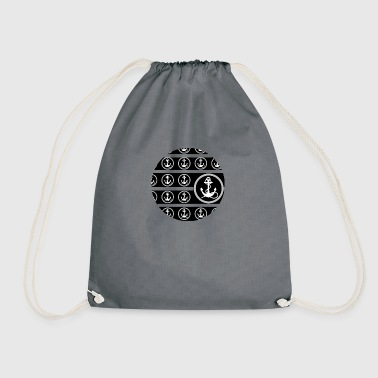 Anchor anchor - Drawstring Bag