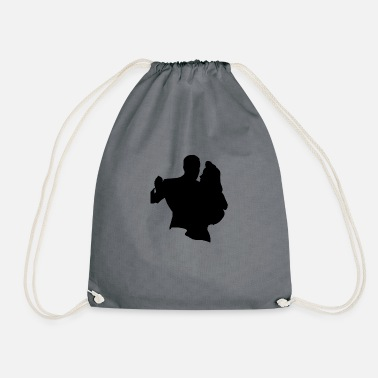 Dance Couple Dancing couple - Drawstring Bag