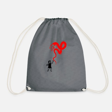 Care be careful - Drawstring Bag