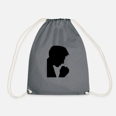 Prayer prayer - Drawstring Bag