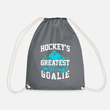 Hockey Goalie Hockey goalie best - Drawstring Bag