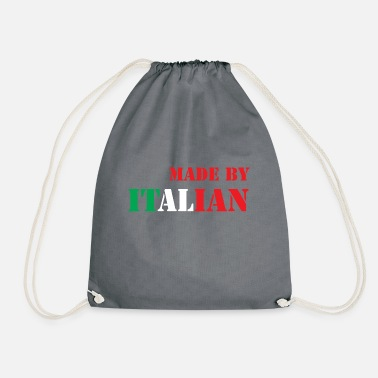 Italian MADE BY ITALIAN - Drawstring Bag