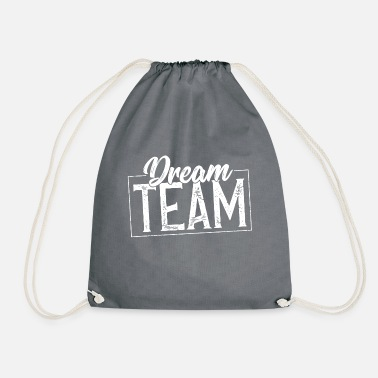 Team Dream team stempel - Turnbeutel