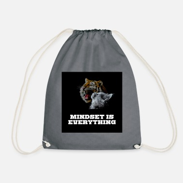 Mindset is everything - Drawstring Bag