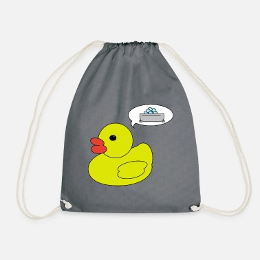 Duck rubber duck - Drawstring Bag