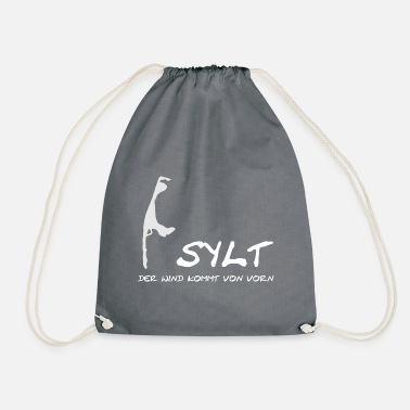 Sylt - the wind comes from the beginning - Drawstring Bag