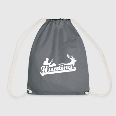 Hunting hunter - Drawstring Bag