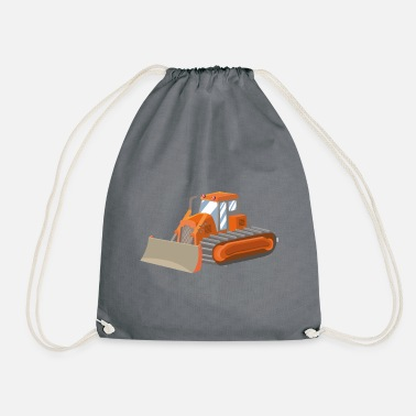 Bulldozer bulldozer - Drawstring Bag