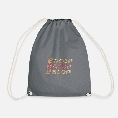Bacon bacon bacon bacon - Drawstring Bag