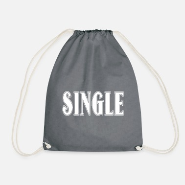 Clubbers single cool funny clubber gift idea - Drawstring Bag