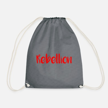 Rebellion rebellion - Drawstring Bag