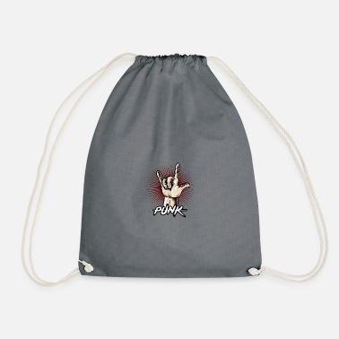 punk - Drawstring Bag