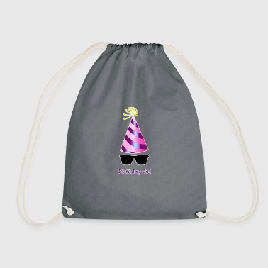 Birthday Girl 4 Birthday Party - Mochila saco