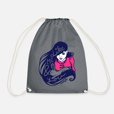 Like me and you - Drawstring Bag