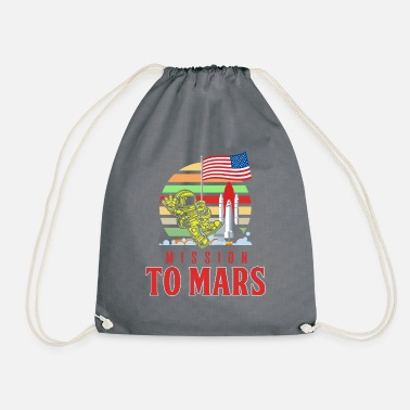 Astronomy Mission to Mars - Drawstring Bag
