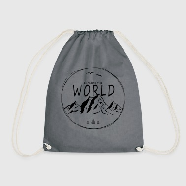 Explore the world - Drawstring Bag