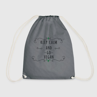KEEP CALM AND GO - Drawstring Bag