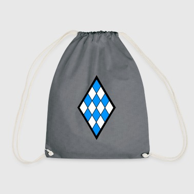 diamond - Drawstring Bag